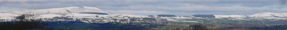 view on wintry Feb day